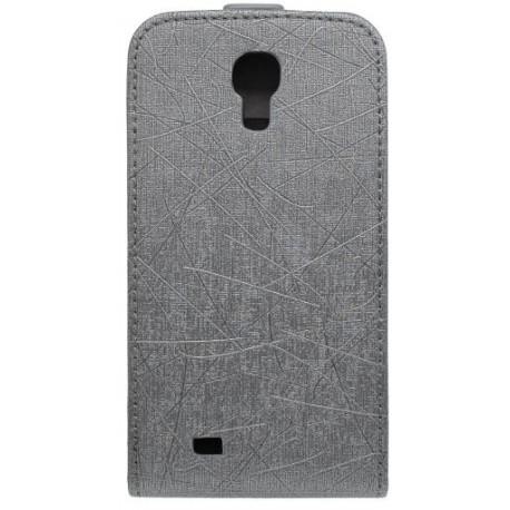 Knižkové puzdro Scratch Samsung Galaxy S4, čierne