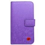 Knižkové puzdro Scratch Samsung Galaxy S4, fialové