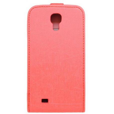 Knižkové puzdro Scratch Samsung Galaxy S4, ružové