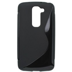 Gumené puzdro LG G2 mini, čierne