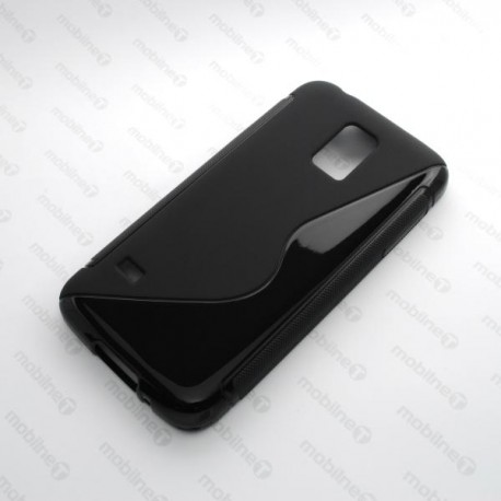 Gumené puzdro Samsung Galaxy S5 mini, čierne