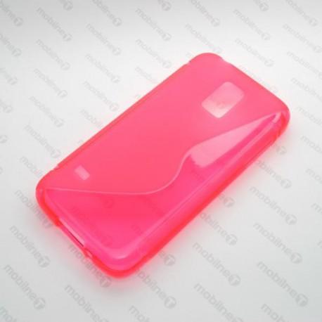 Gumené puzdro Samsung Galaxy S5 mini, ružové