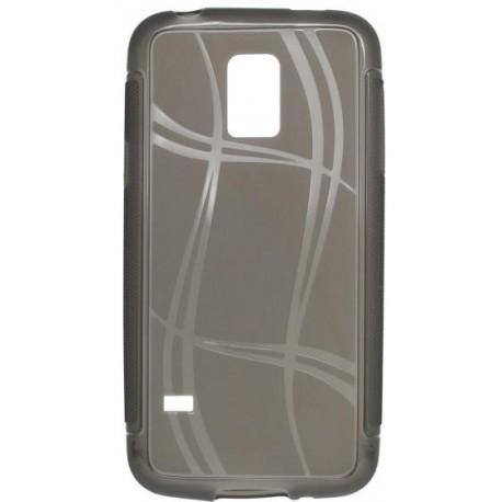 Puzdro Well Lines Samsung Galaxy S5 mini, šedé