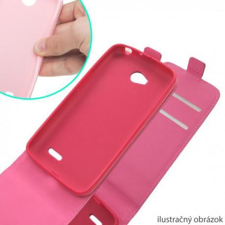 Knižkové puzdro sklopné Samsung Galaxy S5 mini, ružová