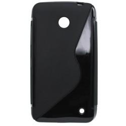 Gumené puzdro Nokia Lumia 635, čierne