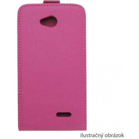 Knižkové puzdro sklopné Sony Xperia E1, ružová
