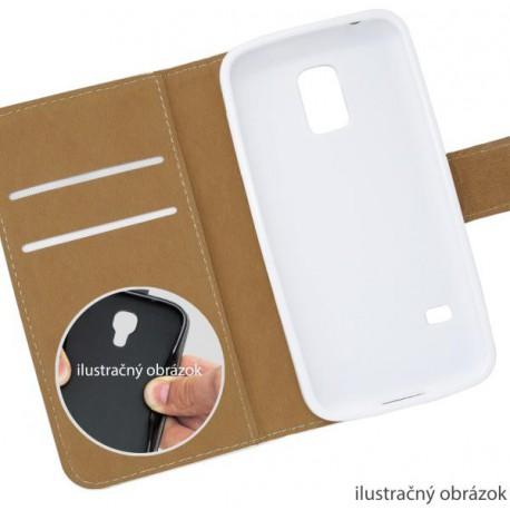 Knižkové puzdro Sony Xperia M2, biele