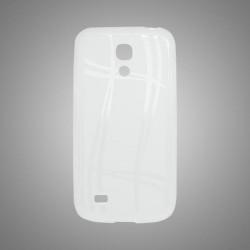 Puzdro Well Lines Samsung Galaxy S4 mini, transparentné