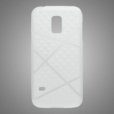 Gumené puzdro Bubble Samsung Galaxy S5 mini, transparentné