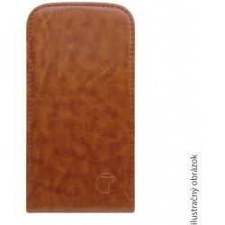 Knižkové puzdro Sony Xperia M2, hnedé