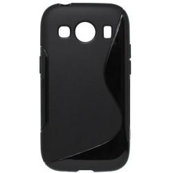 Gumené puzdro S-Line Samsung Galaxy Ace 4, čierne