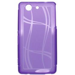 Puzdro Well Lines Sony Xperia Z3 Compact, fialové