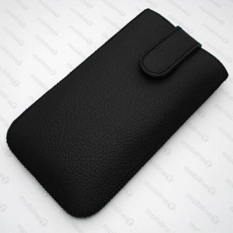 Kožená vsuvka Red Ant Samsung Galaxy Note 4, čierna
