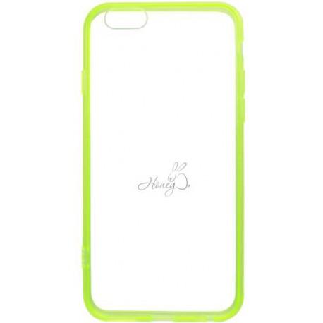 Gumený rám Honey iPhone 6, zelený