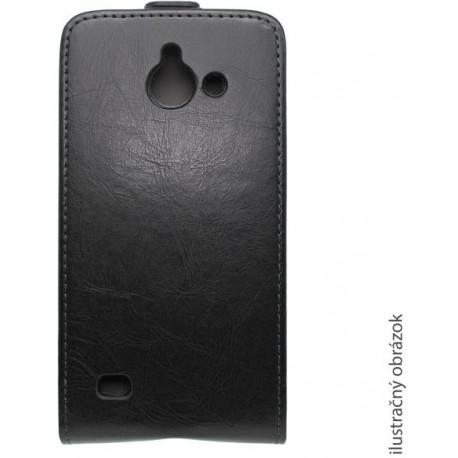 Knižkové puzdro Lenovo A536, čierne