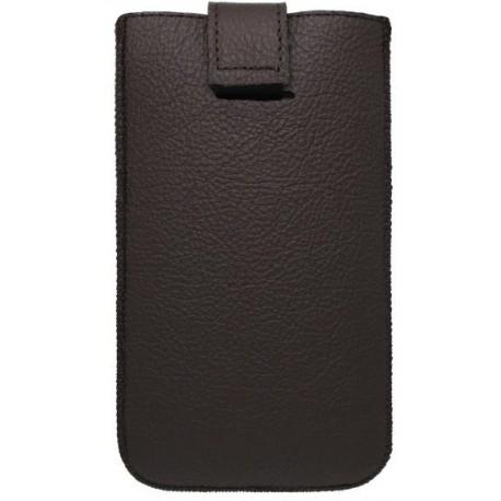Kožená vsuvka Red Ant Samsung Galaxy Note 4, hnedá