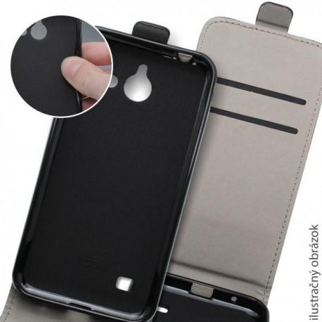 Knižkové puzdro Samsung Galaxy A3, čierne