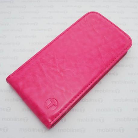 Knižkové puzdro Samsung Galaxy A3, ružové