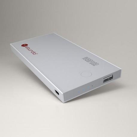 Externá batéria Sturdo, 2A, 8000mAh, 1xUSB, sivá