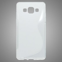 Gumené puzdro S-Line Samsung Galaxy A5, transparentné