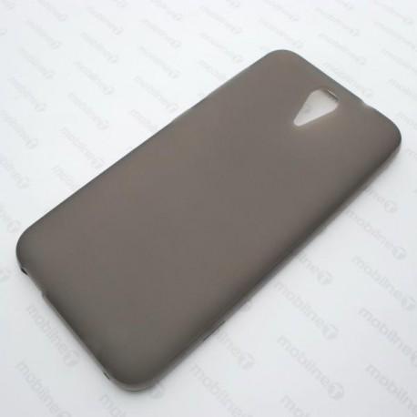 Gumené puzdro Pudding HTC Desire 620, čierne