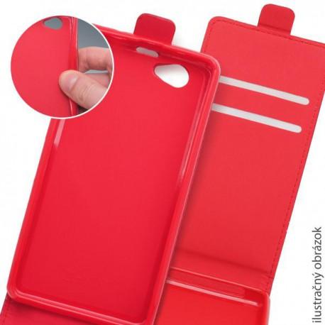 Knižkové puzdro Lenovo A536, červené