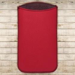 Kožená vsuvka Spring, veľkosť XL, červená, tmavočervené vnútro