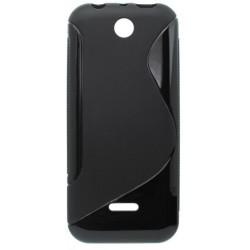Gumené puzdro S-Line Nokia 225, čierne