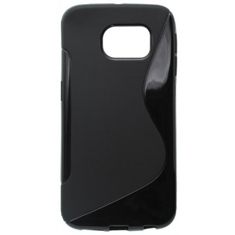 Gumené puzdro S-Line Samsung Galaxy S6 Edge, čierne