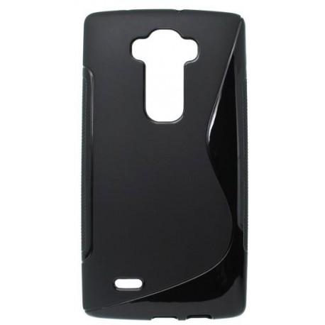 Gumené puzdro S-Line LG G Flex 2, čierne