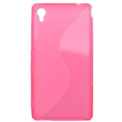 Gumené puzdro S-Line Sony Xperia M4 Aqua, ružové