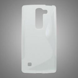 Gumené puzdro S-Line LG Spirit 4G LTE, transparentné