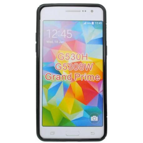 Gumené puzdro S-Line Samsung Galaxy Grand Prime, čierne