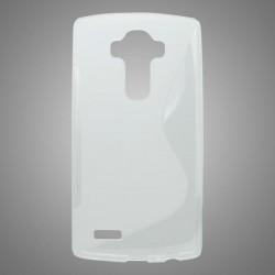 Gumené puzdro S-Line LG G4, transparentné