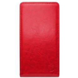 Knižkové puzdro Sony Xperia M4 Aqua, červené