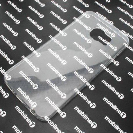Gumené puzdro Samsung Galaxy S6 Edge, transparentné