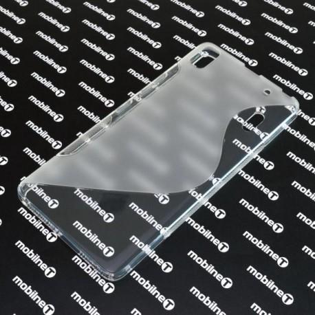 Gumené puzdro S-Line Lenovo A7000 LTE, transparentné