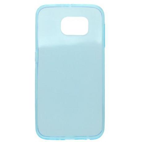 Gumené puzdro Slim Samsung Galaxy S6, modré