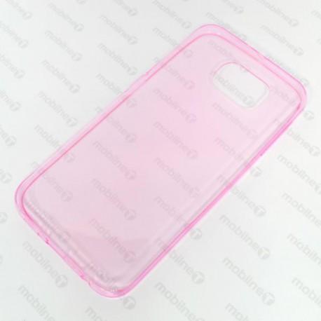 Gumené puzdro Slim Samsung Galaxy S6, ružové