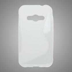 Gumené puzdro S-Line Samsung Galaxy Xcover 3, transparentné