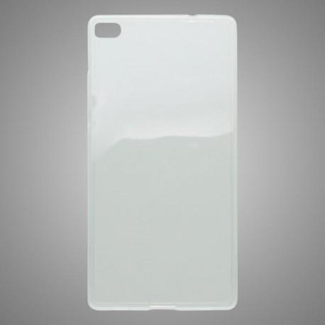 Gumené puzdro Slim Huawei P8, priehľadné