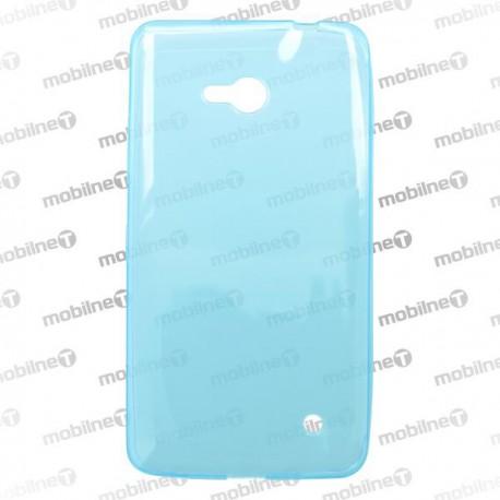 Gumené puzdro Microsoft Lumia 640 LTE, modré, anti-moisture