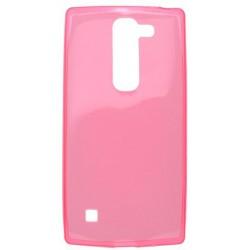 Gumené puzdro LG Spirit 4G LTE, ružové