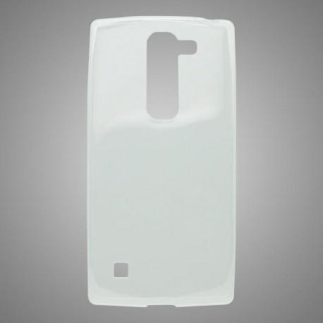 Gumené puzdro LG Spirit 4G LTE, priehľadné
