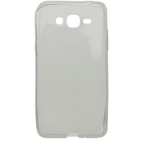 Gumené puzdro Samsung Galaxy Grand Prime, šedé