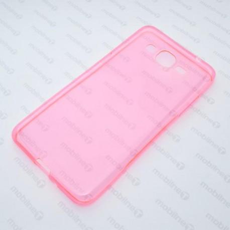 Gumené puzdro Samsung Galaxy Grand Prime, ružové