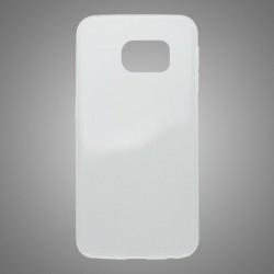 Gumené puzdro Samsung Galaxy S6 Edge, priehľadné