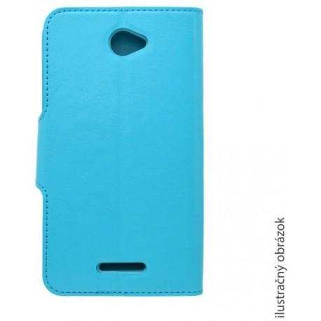 Bočný knižkový obal Samsung Galaxy J1, modrý