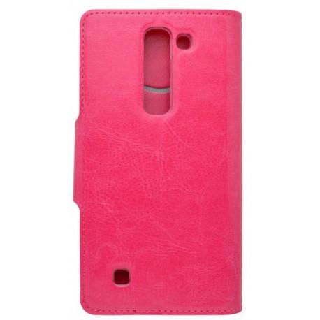 Bočné knižkové puzdro LG G4c, ružové