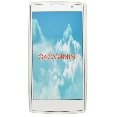 Gumené puzdro LG G4c, priehľadné
